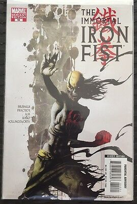 The Immortal Iron Fist # 10 NM Zombie Variant Cover Marvel