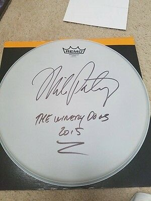 Mike Portnoy Autographed/signed  Drumhead...dream Theater,the Winery Dogs