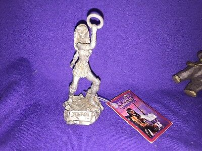 XENA PRINCESS WARRIOR COMSTOCK CREATIONS 1997 Pewter Statue 3.5 Inch Rare