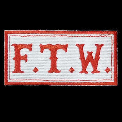 """Hells Angels Support Aufnäher/Patch  """"F.T.W."""" F*** The World Original 81 Support"""