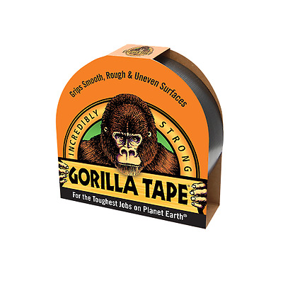 Gorilla Glue Tape - 48mm x 11M, Strong Duct Gaffer Tape,Tougher & Durable