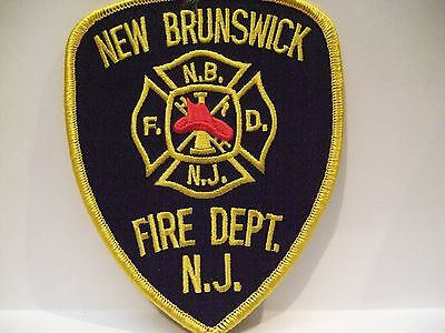 fire patch  NEW BRUNSWICK FIRE DEPT   NEW JERSEY