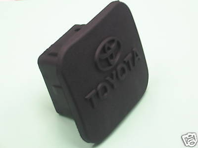 Toyota Oem 2 Inch Black Rubber Hitch Cover Pt228-35960-Hp