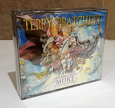 MORT Discworld Novel 4 Terry Pratchett 3 Audio CDs NEW SEALED