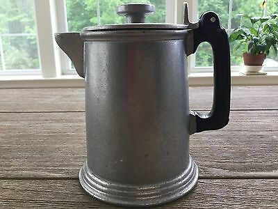 Wilton Pewter Coffee Tea Pot Kettle Wilton Armatale ~ 4 Cup ~ EUC