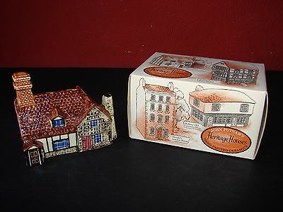 John Putnam's Heritage House Hand Painted Ceramic 17th Century Cottage