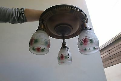 Antique Pendant Light Fixture - PRICED TO SELL