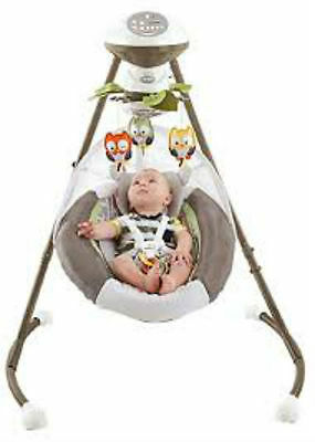 Fisher-Price My Little Snugabear Forest Edition Cradle 'n Swing