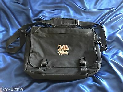 SUPER RARE Xena (Lucy Lawless) OFFICIAL 20th Anniversary Messenger Bag