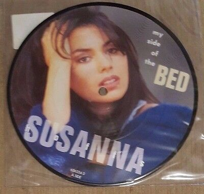 """SUSANNA HOFFS - My Side Of The Bed ~7"""" Vinyl Single~ *PICTURE DISC*"""