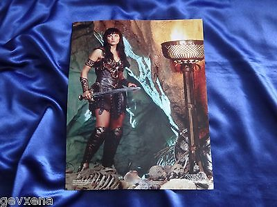 RARE Official Xena 11x14 BIG Photo Picture - Lucy Lawless - XE-BGLL 3