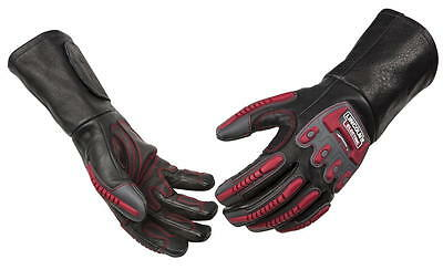 Lincoln Electric K3109-M Welding Roll Cage Rigging Gloves Medium