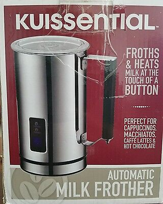 Kuissential Automatic Milk Frother Warmer Cappuccino Maker