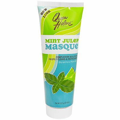 Queen Helene Mint Julep Masque Oily & Acne Prone Skin Complexion Solution 8oz