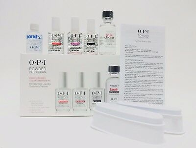 OPI Nail Powder Perfection DIPPING LIQUID ESSENTIALS KIT