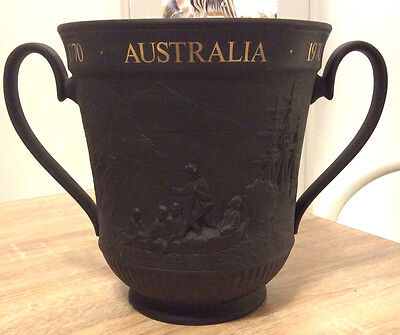 Royal Doulton Black Basalt Limited Edition Captain Cook Twin Handled Loving Cup