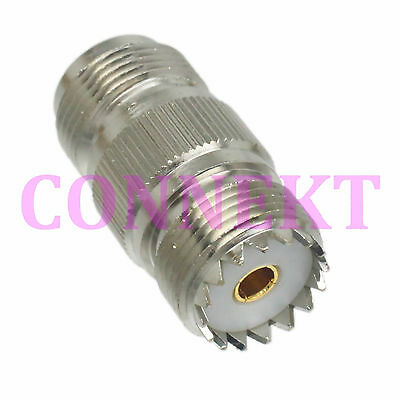 1pce N female jack to UHF SO239 SO-239 female jack RF coaxial adapter connector