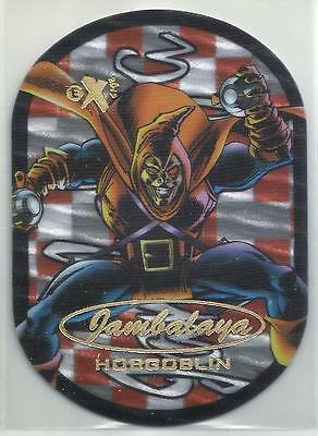 Hobgoblin 2017 Fleer Ultra Spider-Man Marvel Die Cut Jambalaya 14 of 30 SP