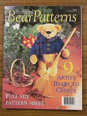 Treasured Bear Patterns - Polar Olde Worlde Teddies 9 Designs