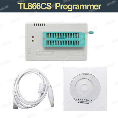 New High Speed USB TL866CS Programmer EPROM EEPROM FLASH BIOS AVR AL PIC TL866CS