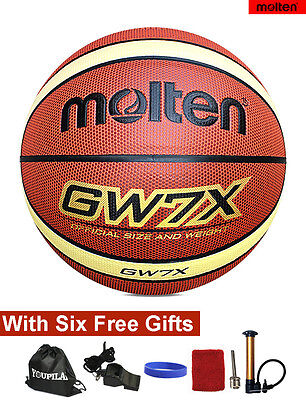 Molten GW7X Composite Leather Basketball --- With FREE GIFTS!!!
