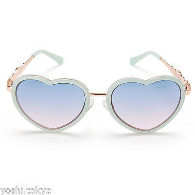 Cinnamonroll women's UV cut sunglasses red heart frame new Japan Sanrio