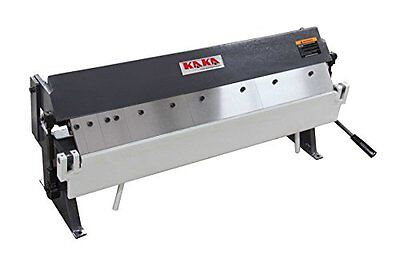 KAKA Industrial W1.0x915A 36-In Sheet Metal Pan and Box Brake, 20 Ga Capacity