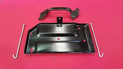 New Battery Tray Kit With Rods & Clamp Ford Xa Xb Falcon Gt Gs V8 Fits Zh Xc