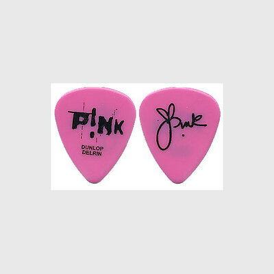 Pink 2004 Try This tour real custom stage signature Guitar Pick Alecia Moore