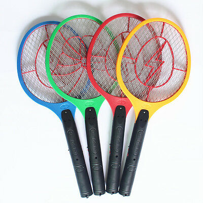 LED Charging Swatter Mosquito Swatter Three Layers of Large Mesh Flies Shoot