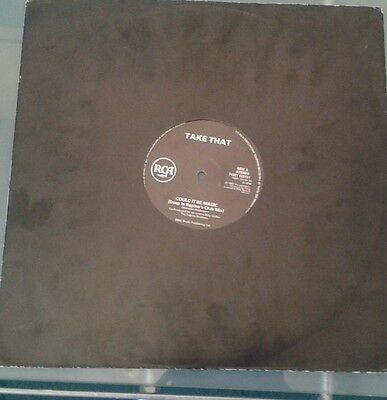 """Take That Could It Be Magic (Deep In Rapino's Club Mix)12""""vinyl  74321 123131"""
