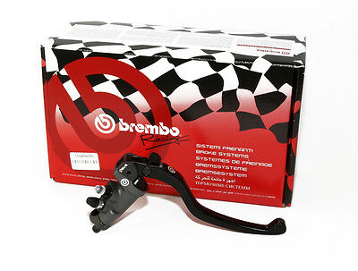 Brembo HP 19x18 19 x 18mm Radial Brake Master Cylinder with STD Lever