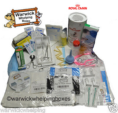 Deluxe Warwick Whelping Boxes ™ Kit Puppy Milk Delivery Pack Royal Canin Milk
