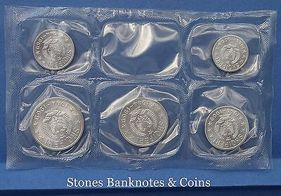 Albania 5 Coin Commemorative Set Uncirculated & Sealed~1969 Liberation 25 years