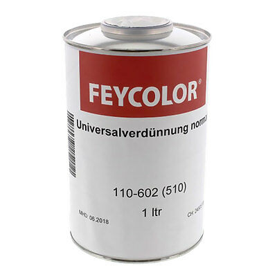 FEYCOLOR Verdünnung 2K Universal NORMAL INDUSTRIE 110-602 510 4049786002286