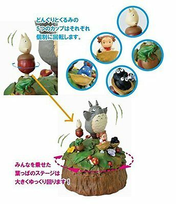Studio Ghibli My Neighbor Totoro music box Walnut cup