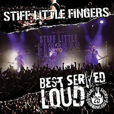 "Stiff Little Fingers ""Best Served Loud"" Double Vinyl LP (New & Sealed)"