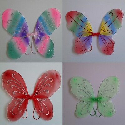 Princess Toddler Kids Girl Baby Fairy Butterfly Wings Fancy Dress Party Costume