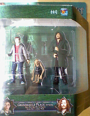 Harry Potter and the Order of the Phoenix 3-pack Grimauld Place figures RARE
