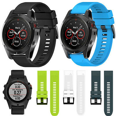 Replacement Silicagel Quick Install Band Strap For Garmin Fenix 5X GPS Watch Hot
