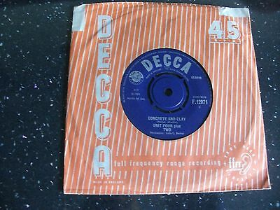"""Unit Four Plus Two:""""concrete And Clay"""".1965 Decca+Cover.superb Upgrader Example!"""
