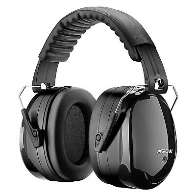 Mpow Ear Defenders Fits Adults and Kids 34dB SNR Comfortable Safety ... Free P&P
