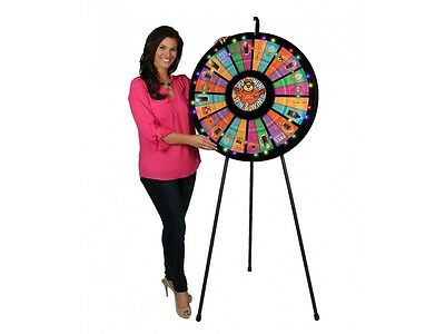 12-24 Slot Floor Prize Wheel with Lights