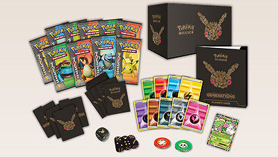 20TH ANNIVERSARY POKEMON TCG Generations Elite Trainer Box FREE EXPRESS POST