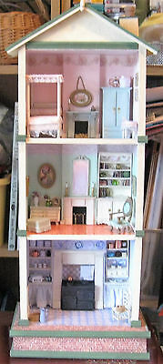 24th Scale Handmade  Early Victorian Style Dollhouse