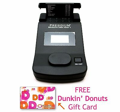 Presidium Refractive Index Meter PRIM II Gem & Diamond Tester + DUNKIN $10 CARD