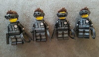 Lego series 16 Spy lot of 4 Great army builder