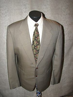 $1299 Canali Milano Black Label Men Brown Wool 2 Butt S/B Suit  40 L Italy 3