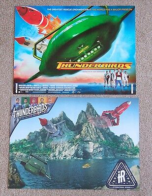 Thunderbirds are Go & movie mini posters. Gerry Anderson