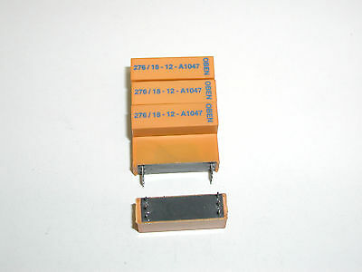 5 Stück Reed Relais 1 Schließer 1Amp., Spule 12VDC, Mercury Wetted Contact Relay